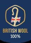 100% British Wool